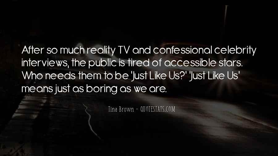 Us Tv Quotes #547133