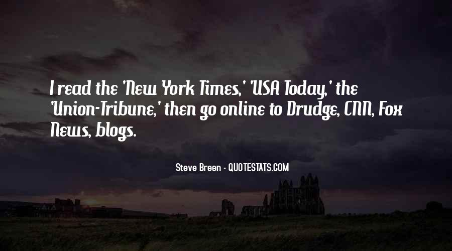 Usa Today Quotes #1486539