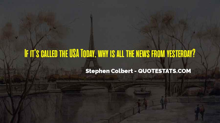 Usa Today Quotes #1690564
