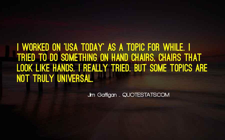 Usa Today Quotes #595036
