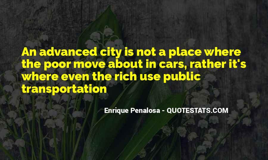 Use Public Transport Quotes #1573802