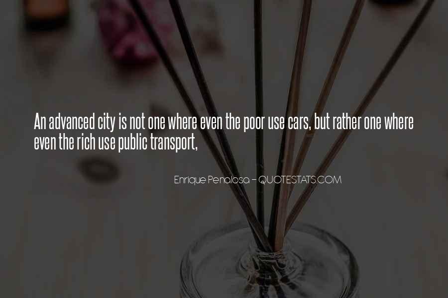 Use Public Transport Quotes #1577289
