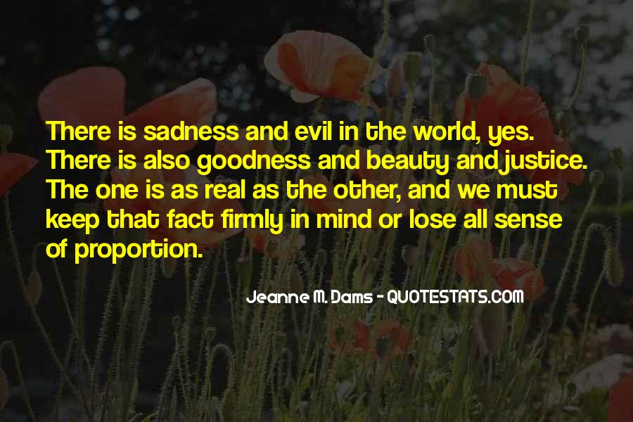 Quotes About Evil And Beauty #1573024