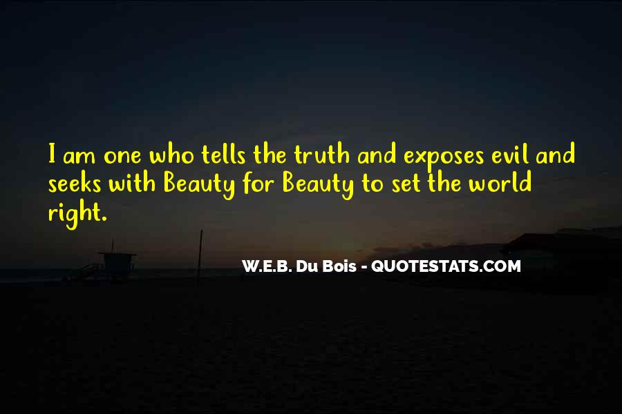 Quotes About Evil And Beauty #1778816