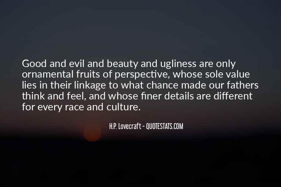 Quotes About Evil And Beauty #1864361