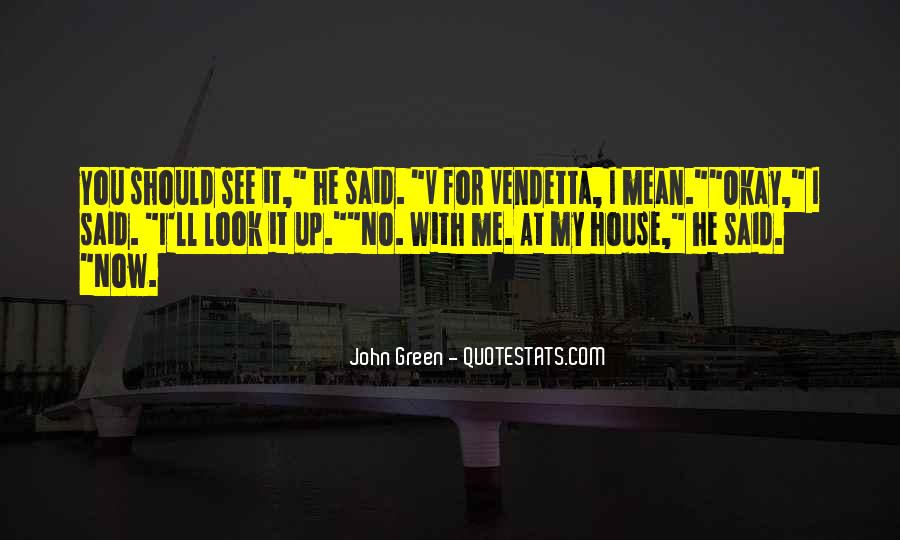 V Of Vendetta Quotes #1384189