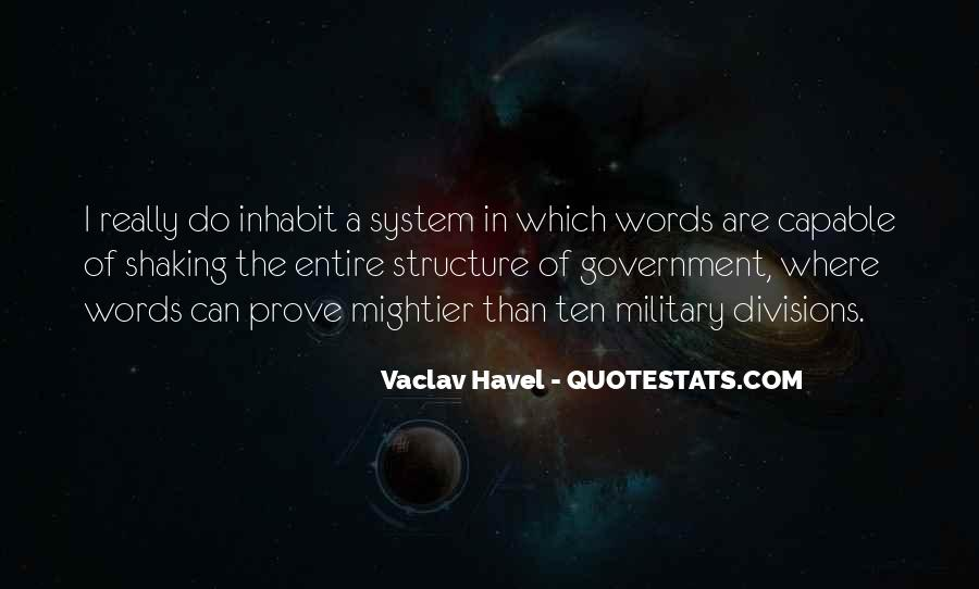 Vaclav Havel's Quotes #1162192