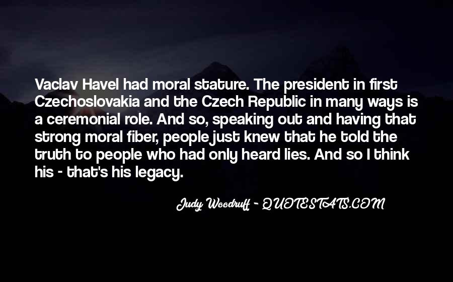 Vaclav Havel's Quotes #1519426