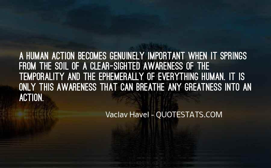 Vaclav Havel's Quotes #224316