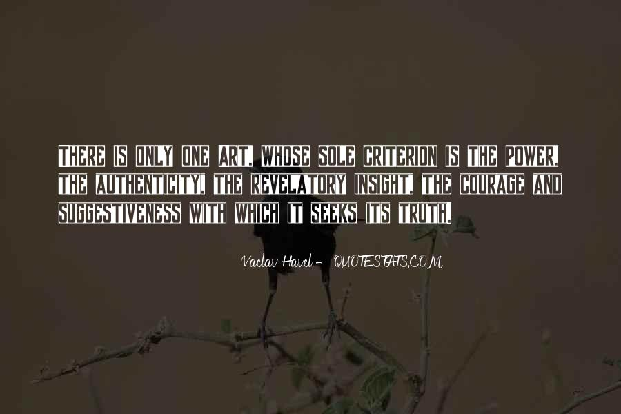 Vaclav Havel's Quotes #339472