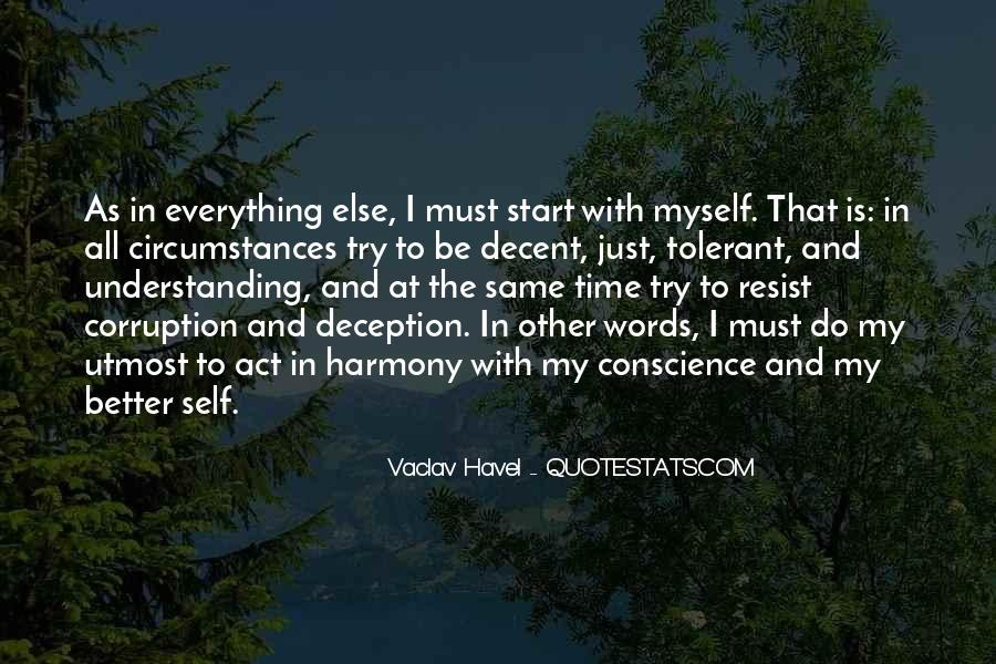 Vaclav Havel's Quotes #343178