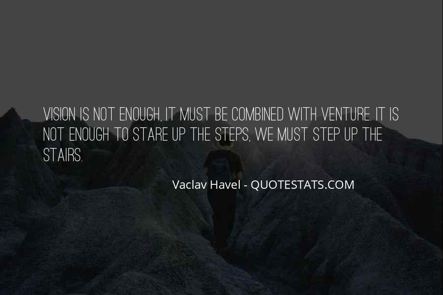 Vaclav Havel's Quotes #358270