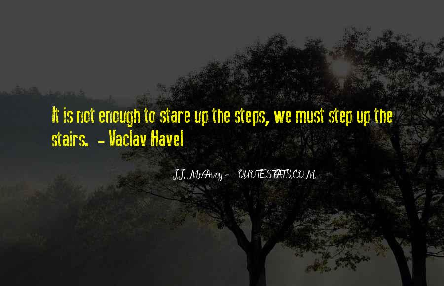 Vaclav Havel's Quotes #520431