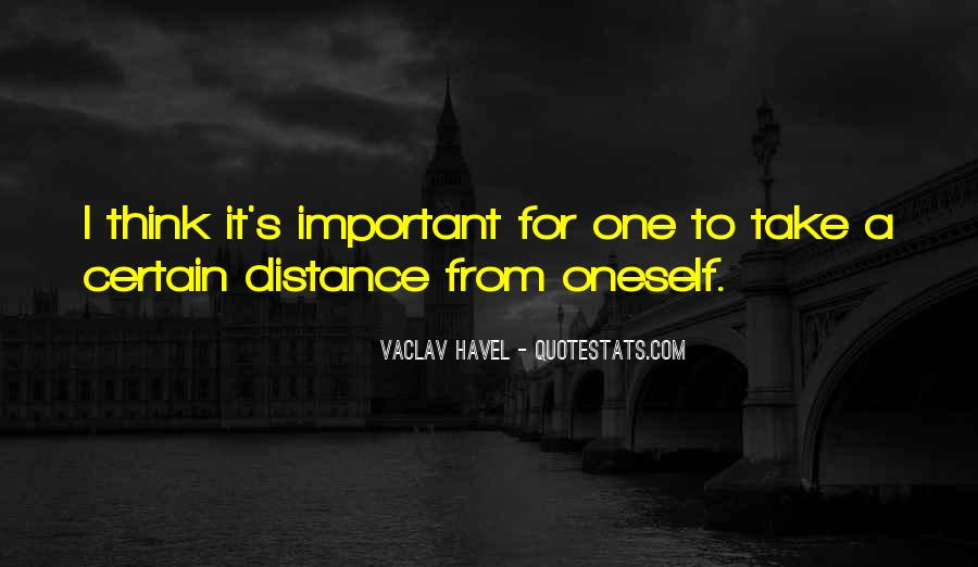 Vaclav Havel's Quotes #539855