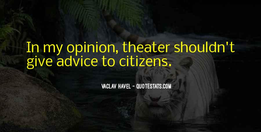 Vaclav Havel's Quotes #577569