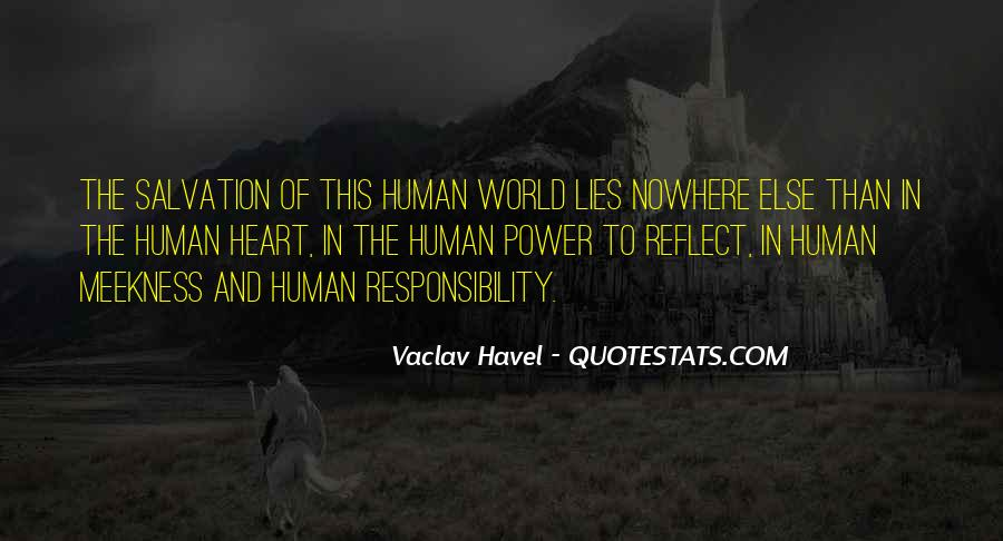Vaclav Havel's Quotes #620369