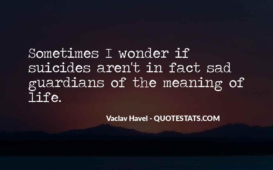 Vaclav Havel's Quotes #715650
