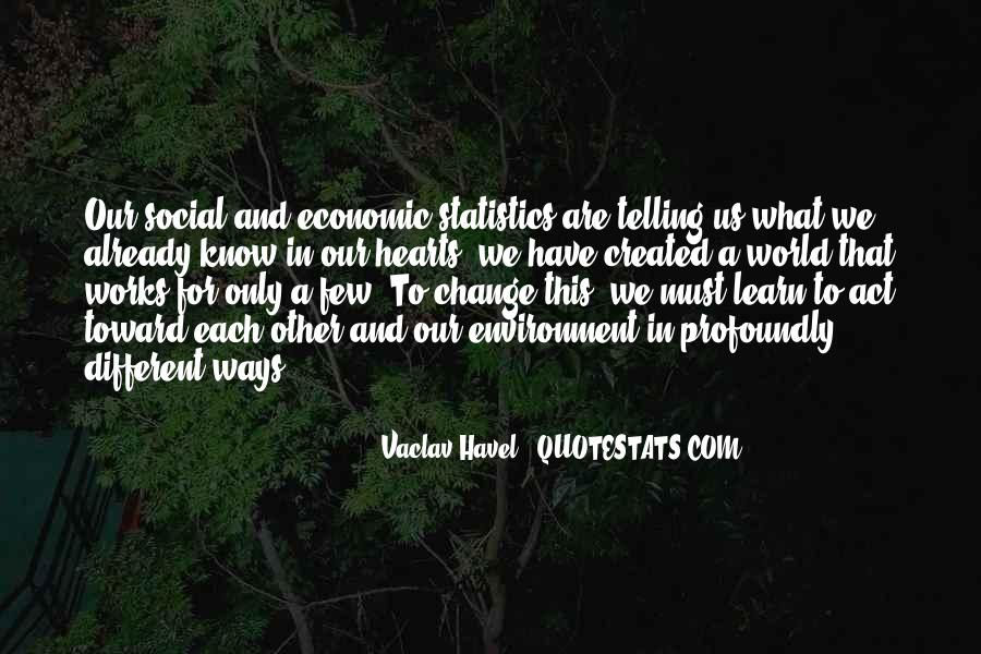 Vaclav Havel's Quotes #872716