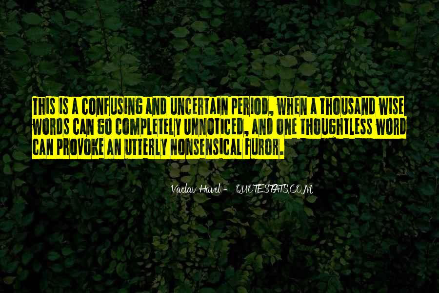 Vaclav Havel's Quotes #888039