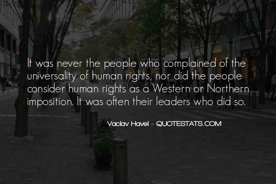 Vaclav Havel's Quotes #900708