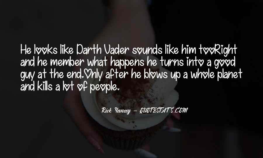 Vader's Quotes #617352