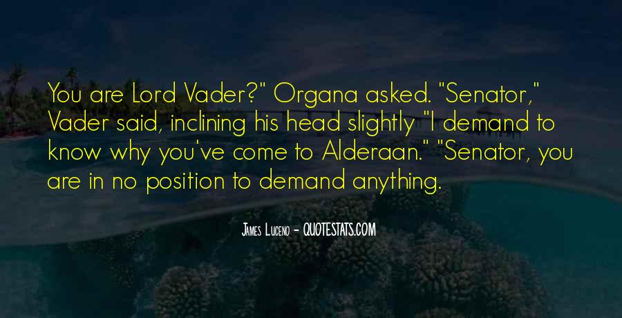 Vader's Quotes #925613