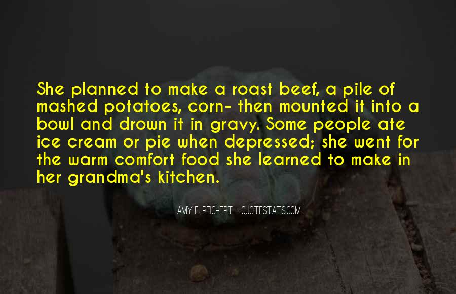 Quotes About Roast Beef #1152029