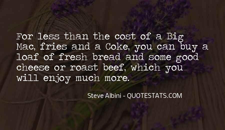 Quotes About Roast Beef #563180