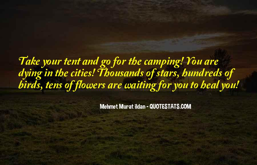Quotes About Tent Camping #1042948