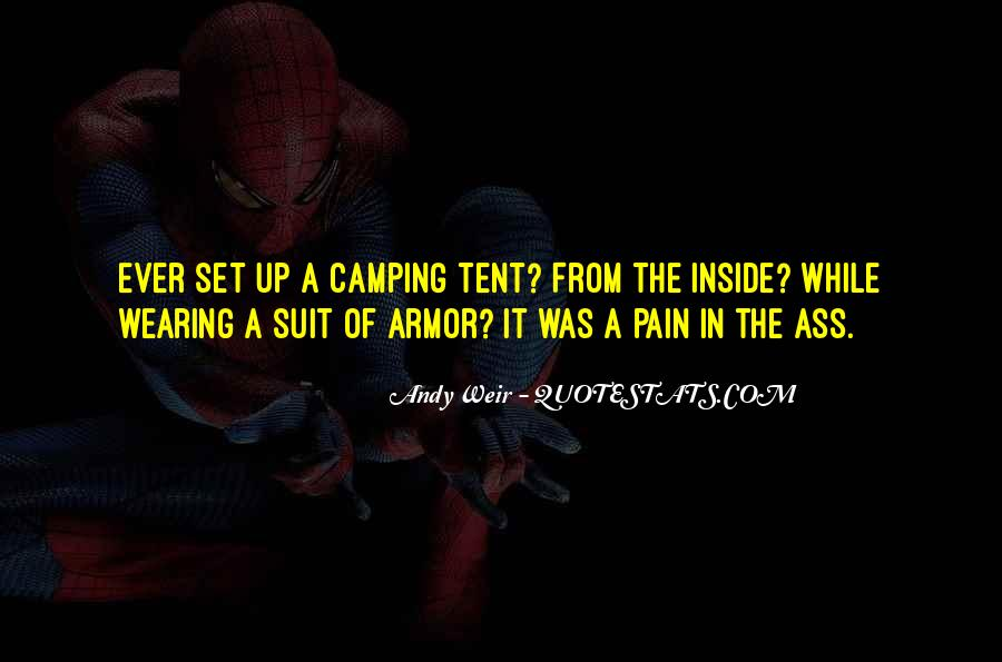 Quotes About Tent Camping #1846474