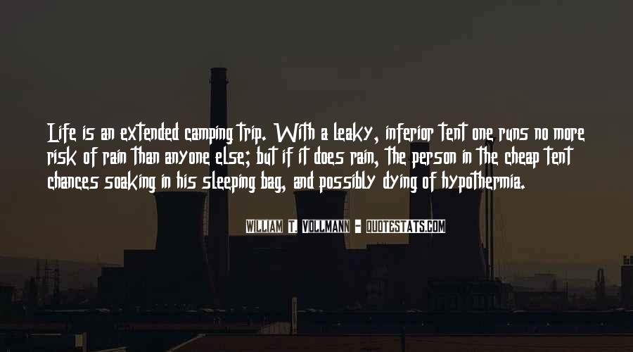 Quotes About Tent Camping #189645