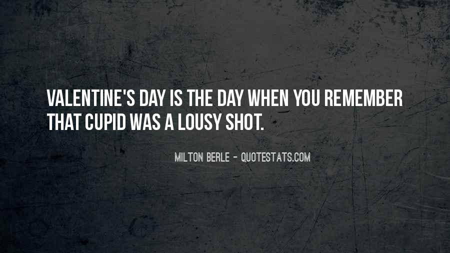 Valentine Cupid Quotes #1404918