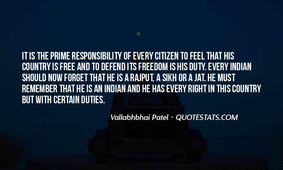 Vallabhbhai Quotes #17476