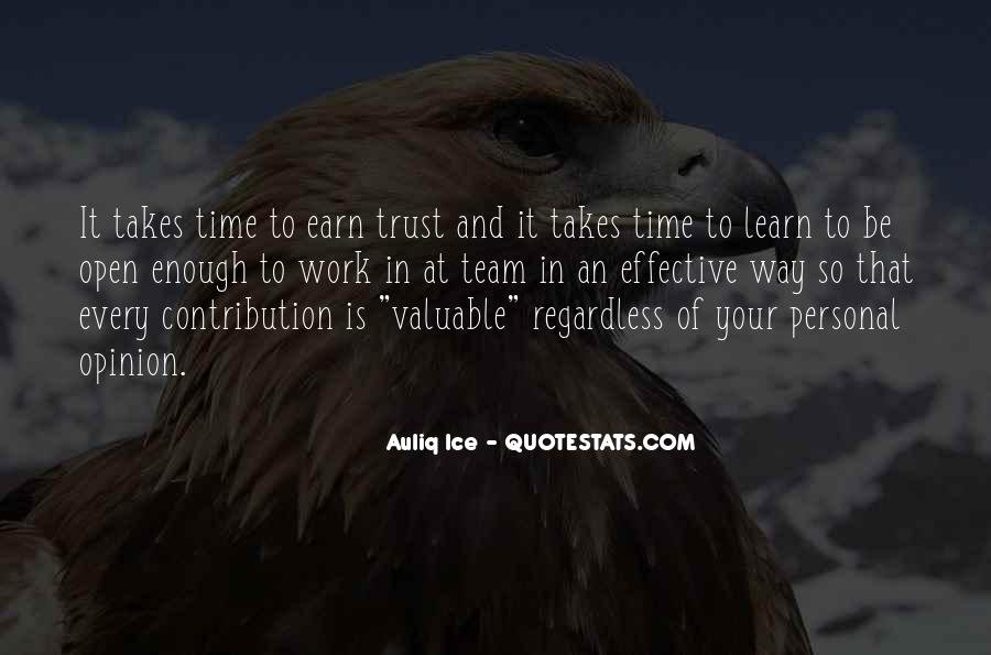 Valuable Contribution Quotes #816142