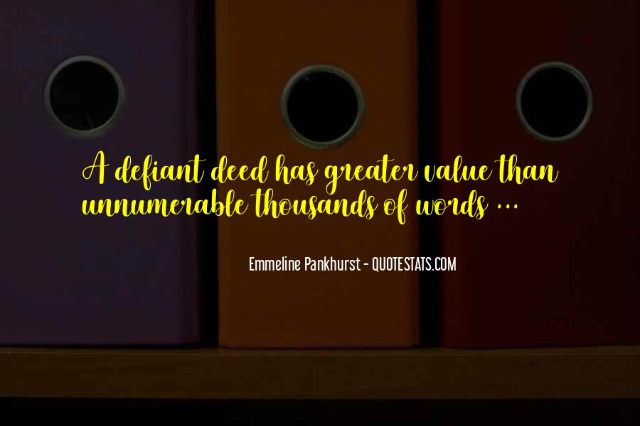 Value Of Words Quotes #123427