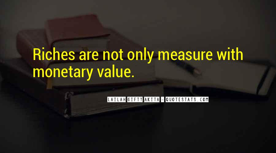 Value Of Words Quotes #1240463