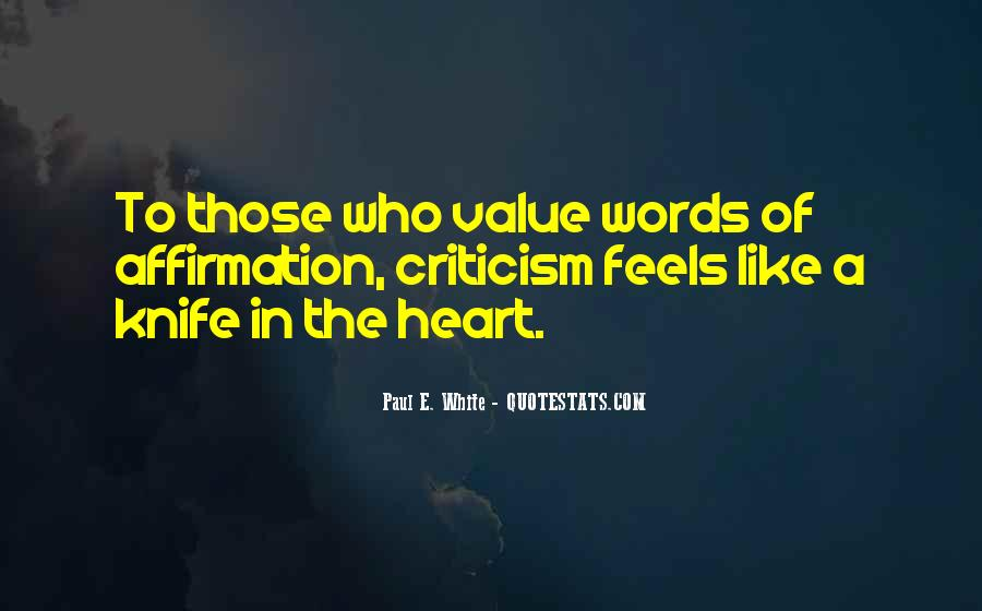Value Of Words Quotes #1273381