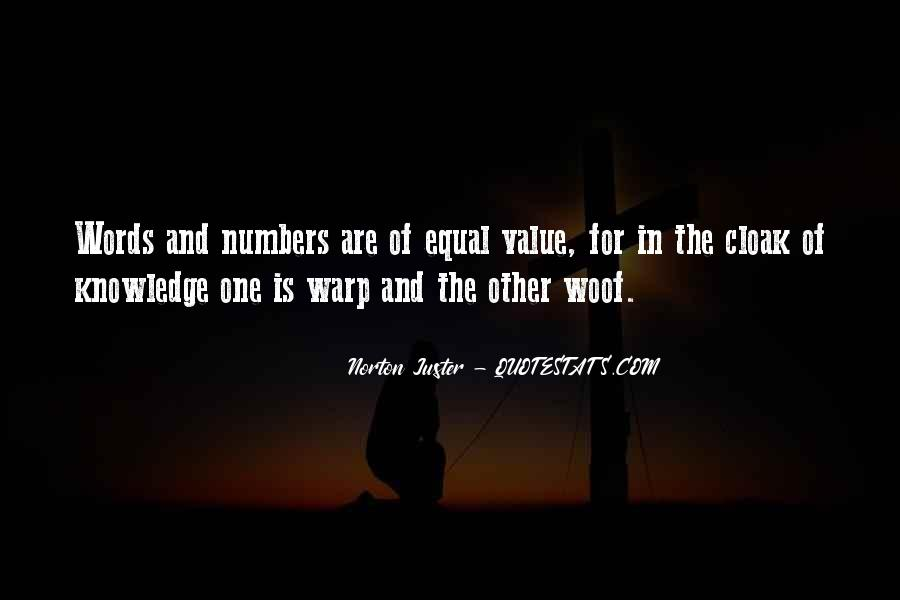 Value Of Words Quotes #1521908