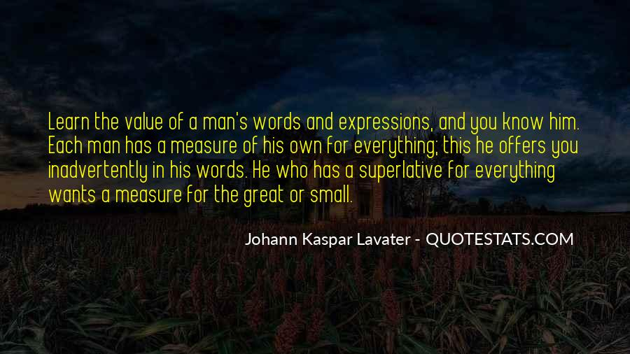 Value Of Words Quotes #1620699
