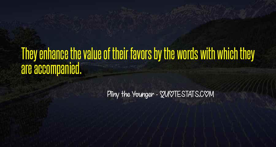 Value Of Words Quotes #347845