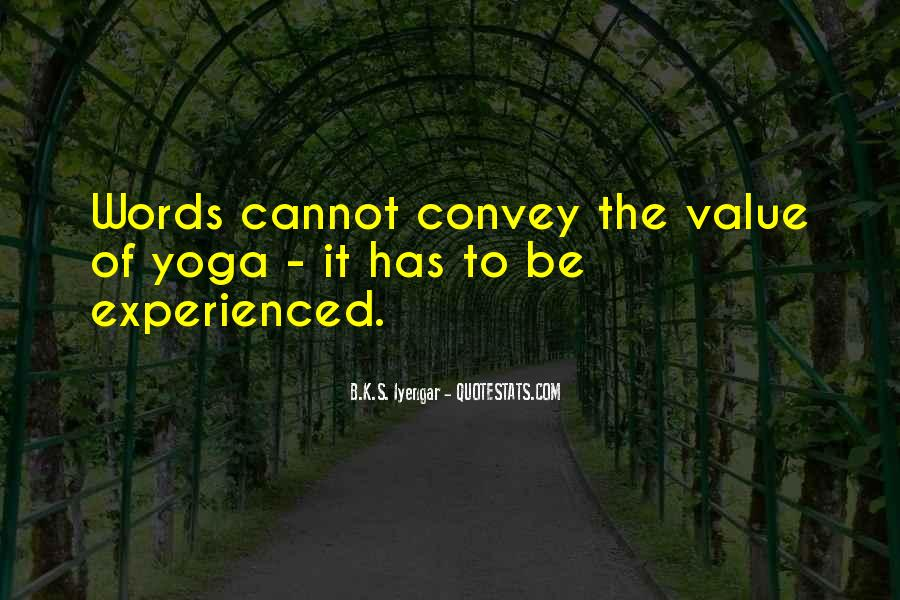 Value Of Words Quotes #785847