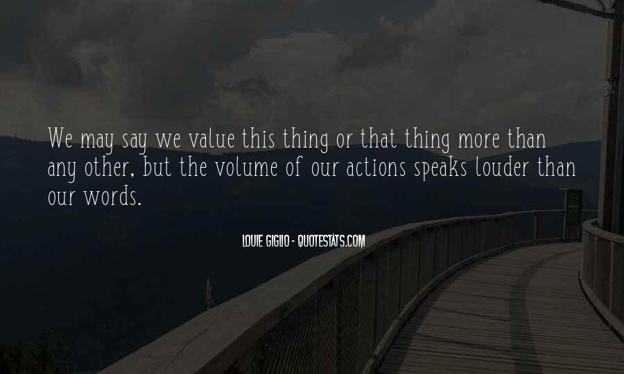 Value Of Words Quotes #823400