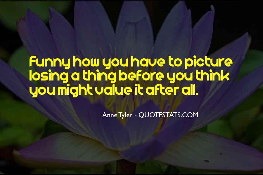 Value Yourself Picture Quotes #109245