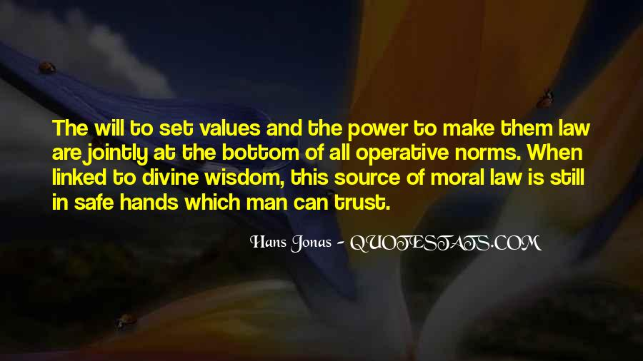 Values And Norms Quotes #873972