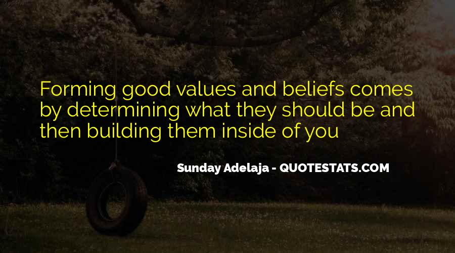 Values And Quotes #30859