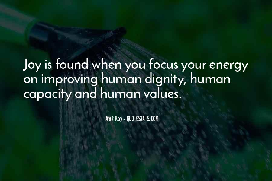 Values And Quotes #31728