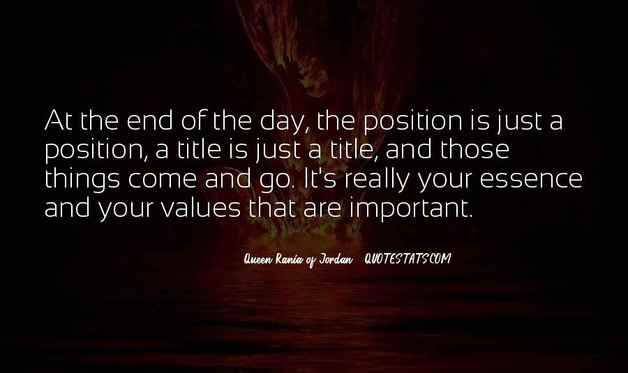 Values And Quotes #41066