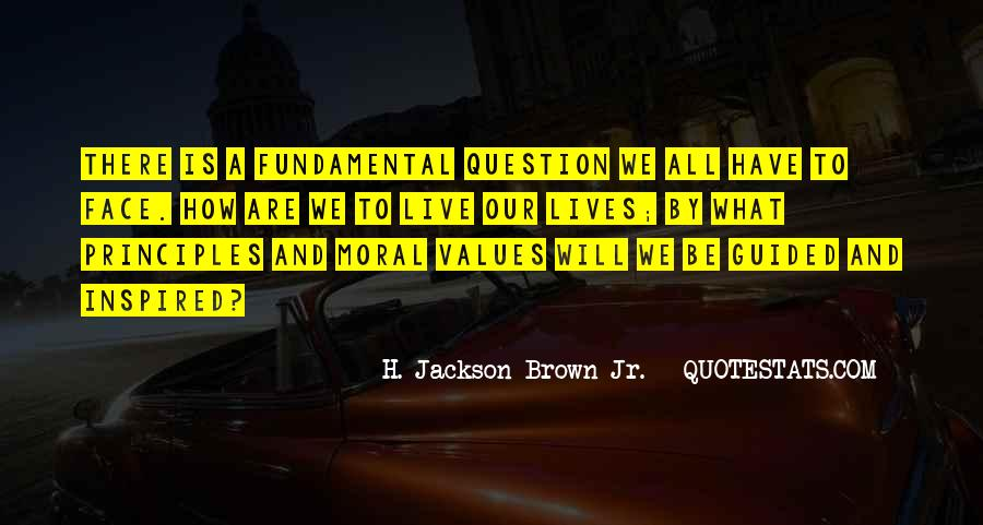 Values And Quotes #41553
