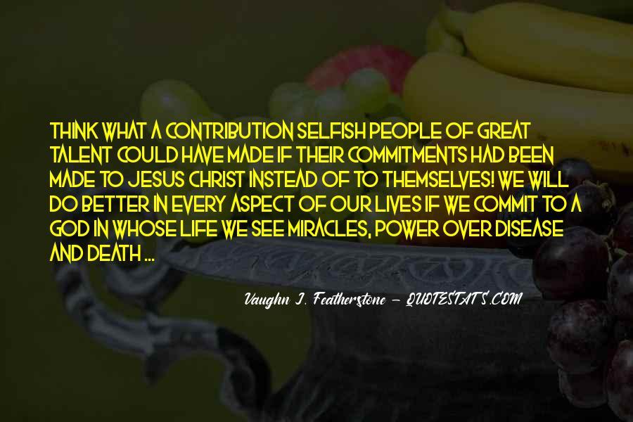 Vaughn Featherstone Quotes #1303400