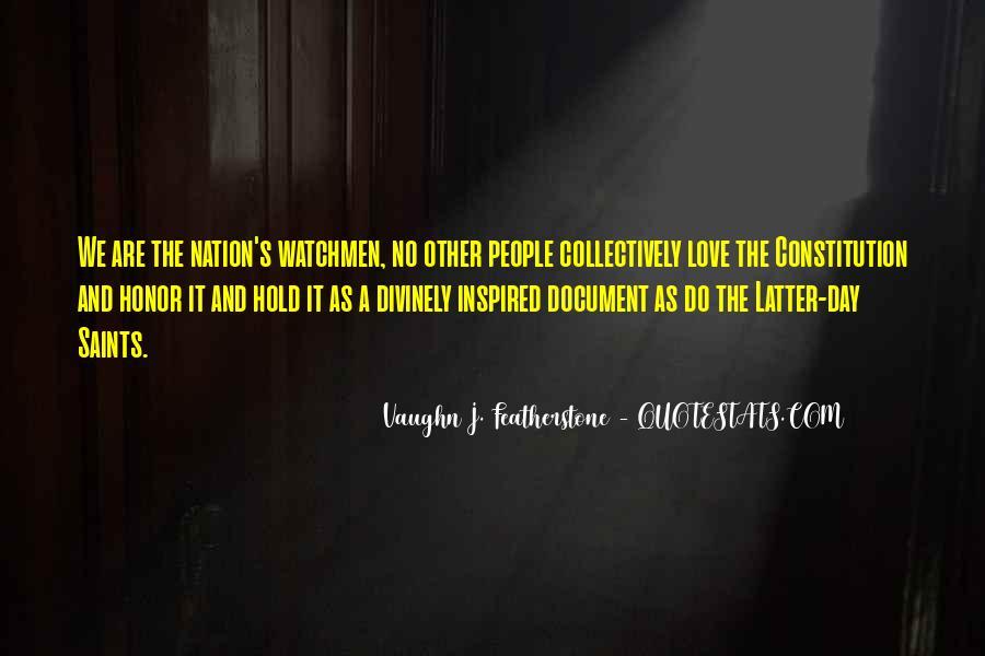 Vaughn Featherstone Quotes #1439908